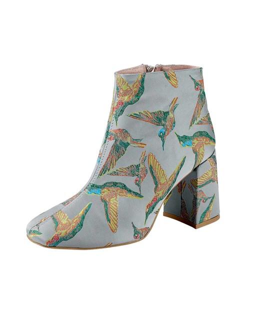Členkové topánky Heine, sivá