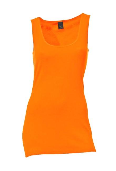 Žiarivo oranžový top